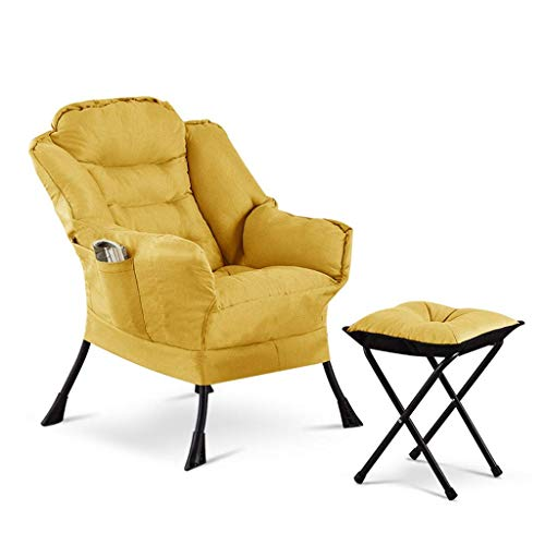 Wing Chair Gaming Sofa Chair Lounger Chair Recliner Chair Single Couch Guest Chair Ergonomic Armchair Dining Chair Side Chair Computer Chair Reception Chair for Kitchen Bedroom Living Room
