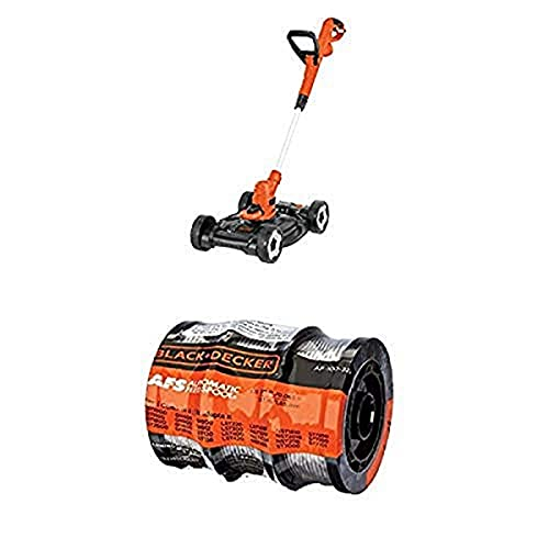 BLACK+DECKER MTE912 6.5-Amp Electric 3-in-1 Trimmer/Edger and Mower,...