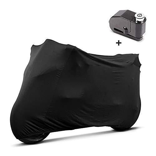 Telo Coprimoto Interiore L + Blocca disco con allarme per Ducati Panigale R