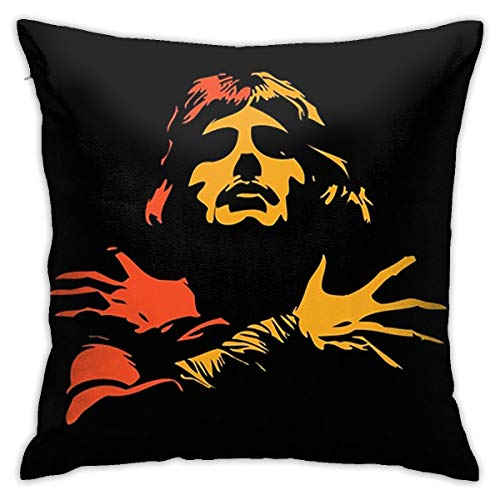 N / A Freddie Mercury - Funda de cojín para sofá, 45 x 45 cm, cómoda y suave