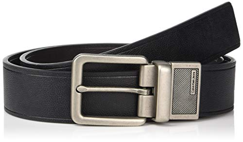Calvin Klein Men's 38mm Reversible Leather Belt, Black/Brown, 30