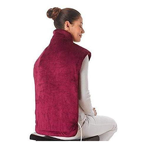 Manta de lujo con calefacción eléctrica, Almohadilla eléctrica de calefacción, hombro de...