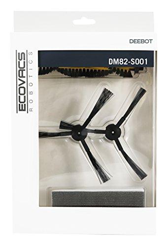 Zubehör-Set DM82-S001 (Hauptbürste, Seitenbürsten, Filter) für DEEBOT M82 (Gelbe Hauptbürste)