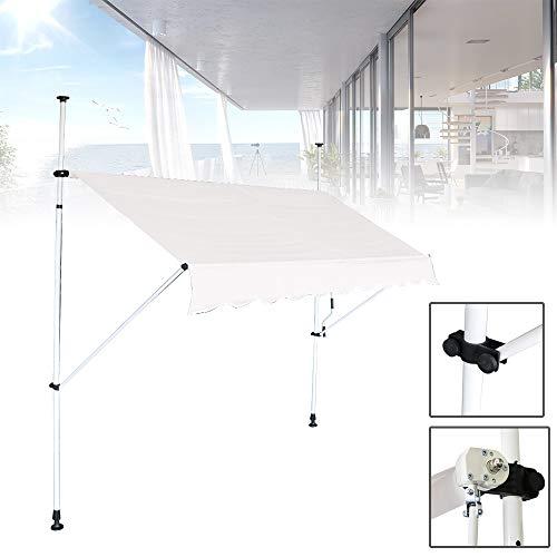 Froadp - Toldo con brazo articulado para balcón