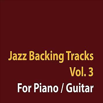 Jazz Backing Tracks, Vol. 3 (For Piano - Guitar)
