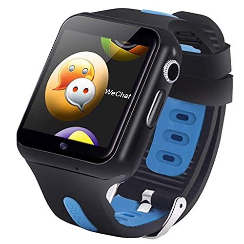 SmartWatch GPS Kids Smart Watch Fitness Tracker Teléfono Impermeable Acticity Trackers Heart Rate Monitor SmartWatch Sports Cámara Relojes Reproductor de música Smart Relojes para niños Adolescentes B