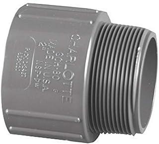 "Charlotte Pipe Male Adapter Sch 80 Pvc 1-1/4 """