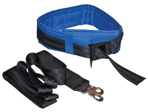 Olympia Sports GY987M Spotting & Training Belt - Medium - Blue