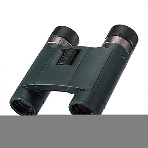 huasa 8/10x25 Prismáticos Pequeños Y Potentes para Observación De Aves,HD Compactos Prismáticos con Lente FMC Y BAK4 Pájaros con Enfoque Dual Zoom Óptico Impermeable,para Adultos Compactos,8x25