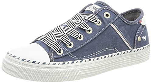 MUSTANG Damen 1376-301 Sneaker, Jeansblau, 41 EU