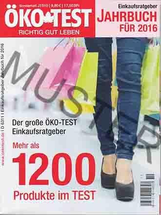 ÖKO TEST Sonderheft - Einkaufsratgeber Jahrbuch für 2016