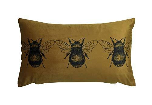 Gold Bee Gold Filled Cushion 30cm x 50cm (UDPB549) – Evans Lichfield