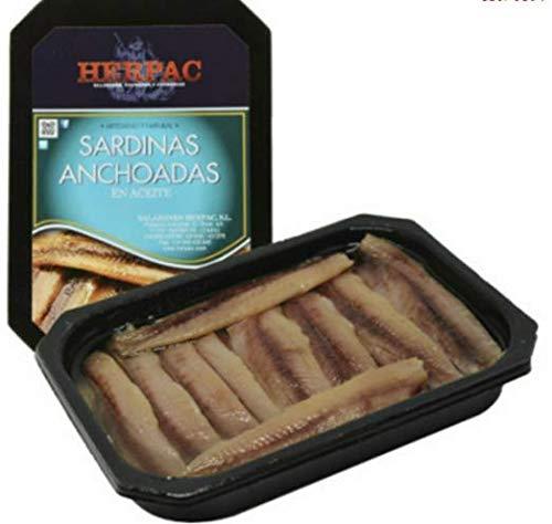SARDINAS ANCHOADAS EN ACEITE 740 grs.