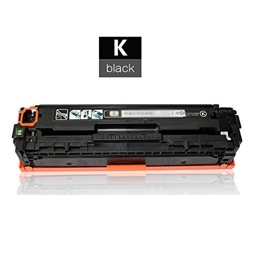 TIANCHAO CF410X CF411X CF412X CF413X Reemplazo de Cartucho de tóner Compatible, para HP Color Laserjet Pro M452dw / M452nw / M452dn / M477fnw / MFP M477fdw Polvo fácil de Agregar/con Chip-Black