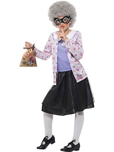 Smiffys Disfraz oficial de David Walliams Deluxe Gangsta Granny