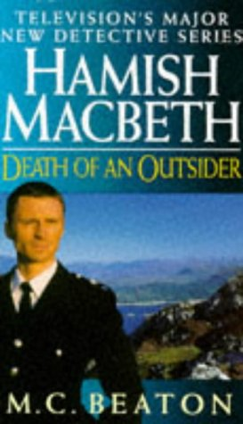 Death of an Outsider (Hamish Macbeth Mysteries,... 0553407937 Book Cover
