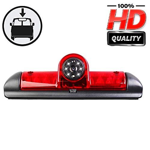 HD Fahrzeugspezifische Farb-Rückfahrkamera zum Austausch der originalen 3. Bremsleuchte an der Dachkante für Citroen Jumper III/FIAT DUCATO X250 / Citroen Relay Peugeot Boxer III Transporter