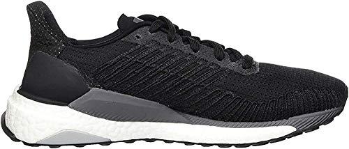adidas Damen Solarboost 19 Road Running Shuhe, Schwarz (Core Black/Carbon/Grey), 41 1/3 EU