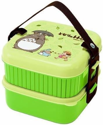 Totoro Bento Studio Max 85% Arlington Mall OFF Ghibli 2-Tier Lunch Design Box