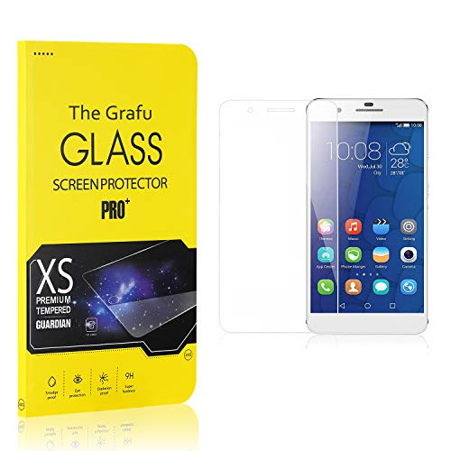 Review The Grafu Screen Protector Compatible with Huawei Mate 9 Lite, Tempered Glass, Scratch Resist...