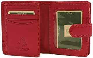 Visconti Heritage -31 Trifold Soft Light Leather Wallet & Purse