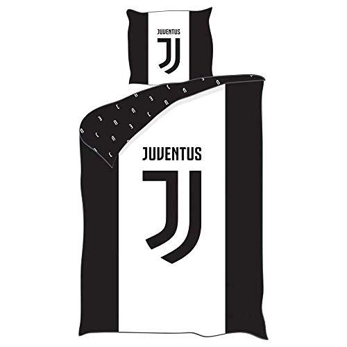 Juventus - Parure da letto con copripiumino in poliestere