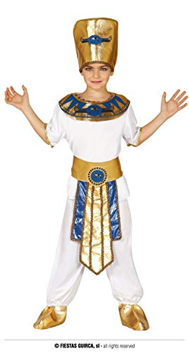 Guirca- Disfraz faraón, Talla 7-9 años (83366.0) , color/modelo surtido