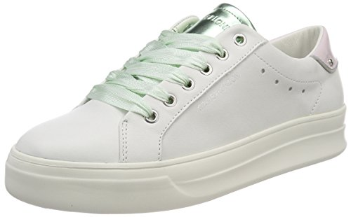 Crime London Damen 25606KS1 Sneaker, Weiß Weiß, 38 EU