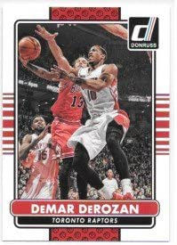 DeMar DeRozan 2014 15 Donruss Toronto Raptors Card 197 product image