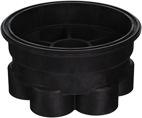Paramount Pool & Spa Systems 005-302-4032-03 6-Port Base , 2-Inch, Black