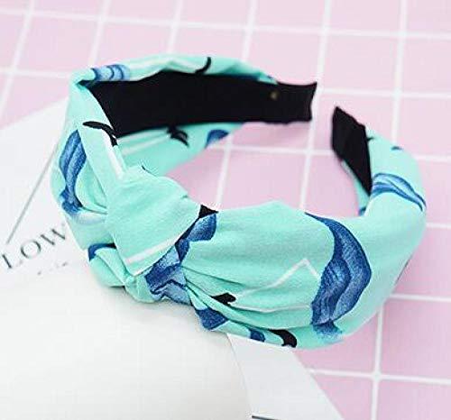 Turbantes para Mujer Diademas Diadema Cruzada Anudada para Mujer Diadema Ajustable Cabeza Anudada Mujeres Disponibles Accesorios para El Cabello para Mujer 28