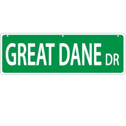 Imagine This Plaque de rue Great Dane