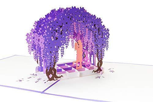 Valentijnsdag kaart 3D pop-up