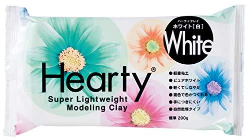 パジコ 軽量樹脂粘土 ハーティクレイホワイト 200g 白 日本製 303107