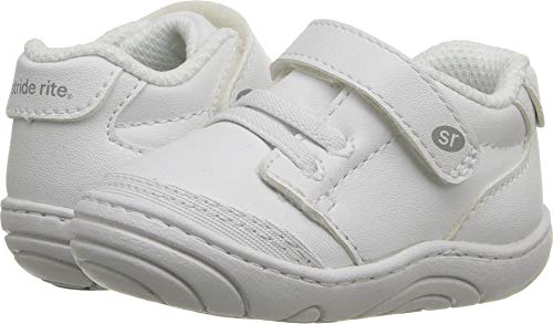 Stride Rite Taye (Infant/Toddler) White Synthetic 4 Toddler