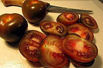 Potseed Tomato Kumato Yummy - Süß - Spritzig 40 frische Samen Brown Delicious! Geben Sie Schiff frei!
