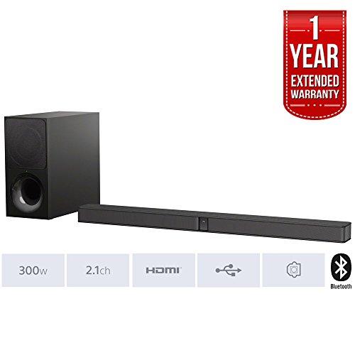 Sony CT290 - Soundbar ultra sottile 300 W con Bluetooth + 1 anno di garanzia estesa