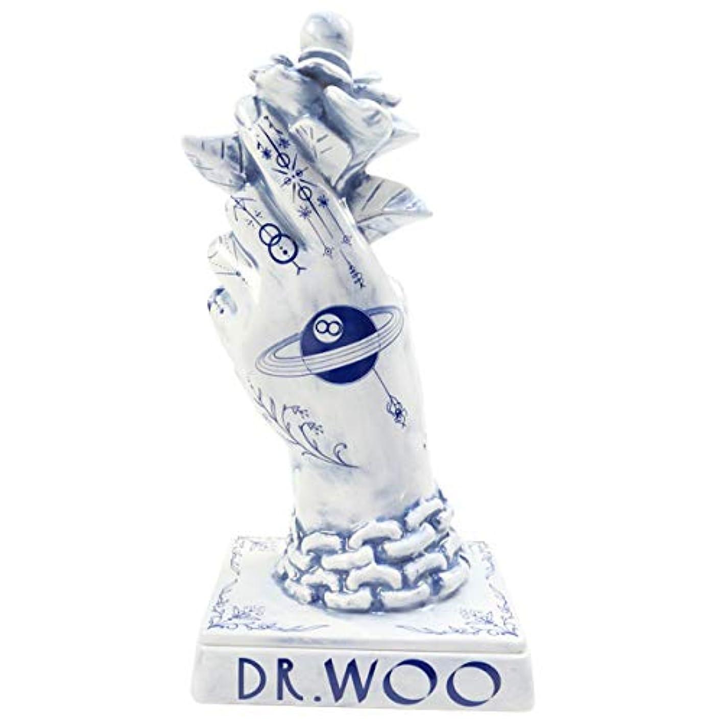 日付付きゴミ箱を空にする干渉NEIGHBORHOOD ネイバーフッド 18AW ×Dr Woo BOOZE. DW/CE-INCENSE CHAMBER お香立て 青 フリー