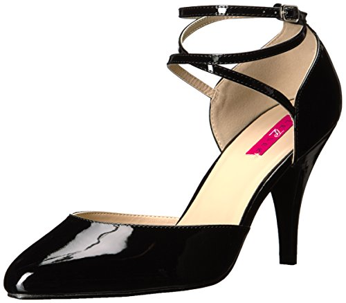 Pleaser Pink Label Damen DREAM-408 Pumps, Schwarz (Blk Pat), 43 EU