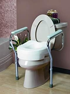TOILET SEAT FRAME RTL BX Case of 2 Invacare Supply Group ISG1392KD (Case)
