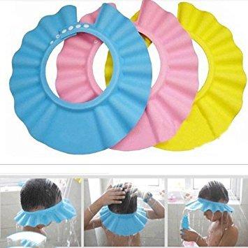 Gorro para Ducha/Baño Suave para Niños para Lavarse el Cabello sin Irritarse...