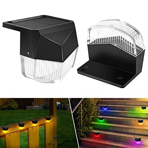 (65% OFF) Outdoor Waterproof Solar Deck Lights 2 Pack $10.49 – Coupon Code