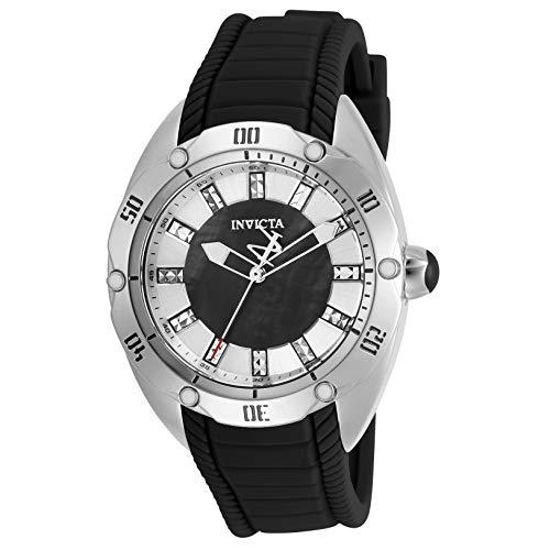 Invicta Venom Quartz Crystal Black Dial Ladies Watch 30971