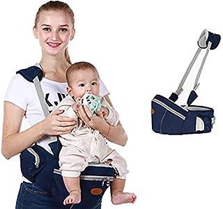 Baby Hip Seat Carrier Baby Waist Stool for Child Infant Toddler with Adjustable Strap Buckle Pocket Soft Inner Huge Storag...