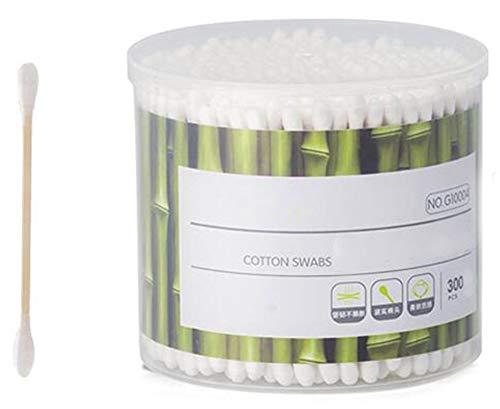 Cotons-tiges de sécurité 300 pièces Coton-tige à double pointe Bâtons de nettoyage polyvalents #19