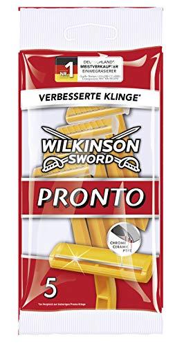 Wilkinson Sword Pronto Heren-wegsgraveerapparaat, 5 stuks