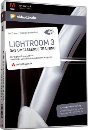 Lightroom 3 - Video-Training - 13 Stunden Video-Training auf DVD: Das umfassende Training (AW Videotraining Grafik/Fotografie)