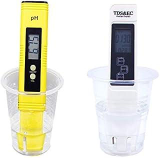 NO LOGO L-Yune, PH mètre numérique Taille Haute PRÉCISION Taille 0.01 résolution TDS et CE testeur for la consommation de ...
