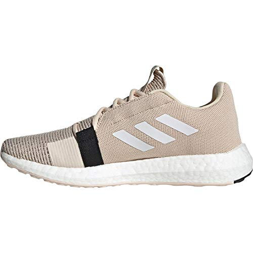 adidas SenseBOOST GO w, Zapatillas de Running Mujer, Lino/Ftwbla/Negbás, 40 EU ✅