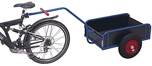 Fahrradanhänger mit Bordwand Traglast (kg): 400 Ladefläche: 1105 x 535 mm RAL 5010 Enzianblau